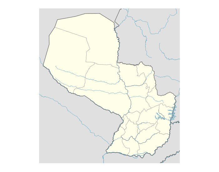 Region-Country Borders : Paraguay