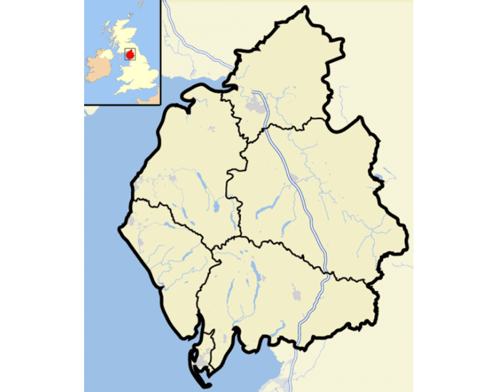 Towns and Cities of Cumbria