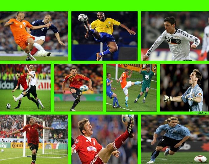 2010 World Cup Top Players : Best players of the world cup purposegames