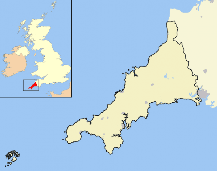 Towns and Cities of Cornwall