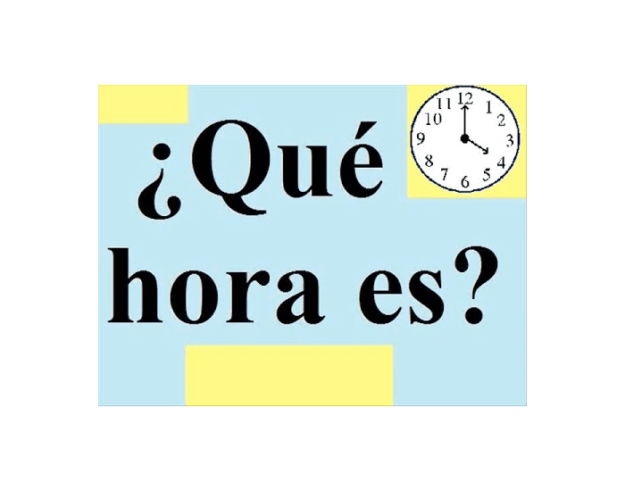 Spanish Time Quiz