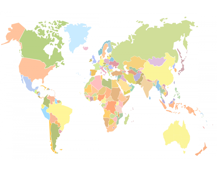 30 Largest Countries in the World (by area)