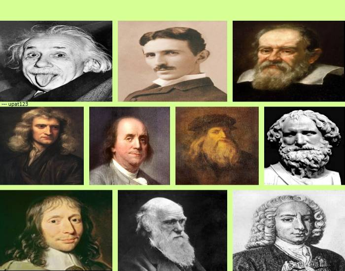 10 Influential Scientists