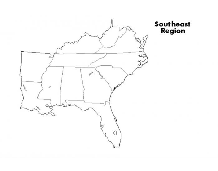 Southeast State Capitals