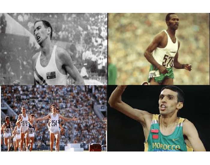 Olympic Gold Medalists in 1500 metres 1948-