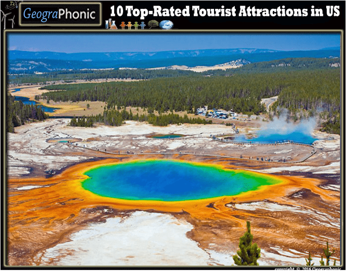 10 Top-Rated Tourist Attractions in US