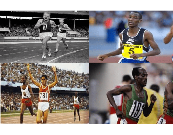 Olympic Gold Medalists in 5,000 metres 1948-