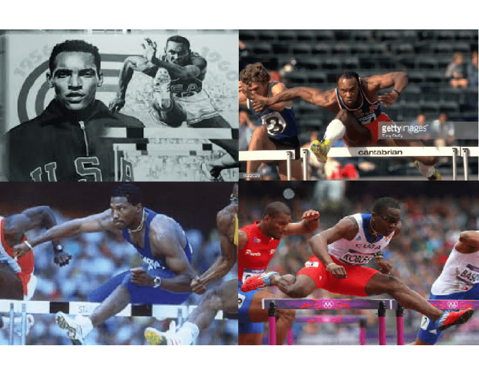 Olympic Gold Medalists in 110 metres hurdles 1948-