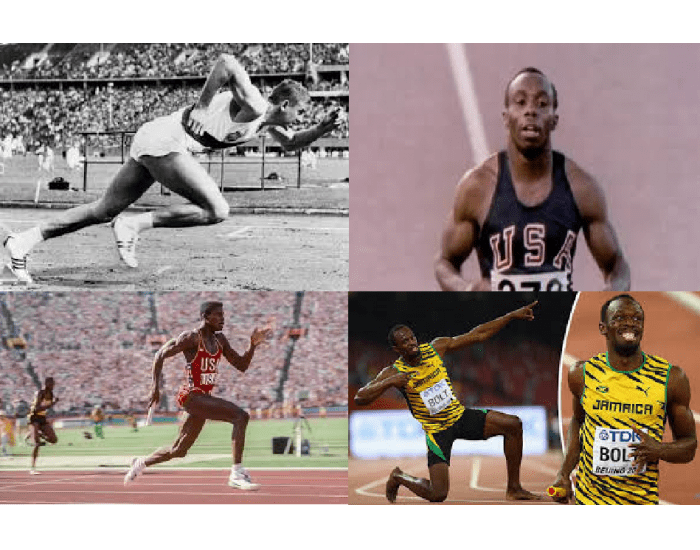Olympic Gold Medalists in 100 metres 1948-