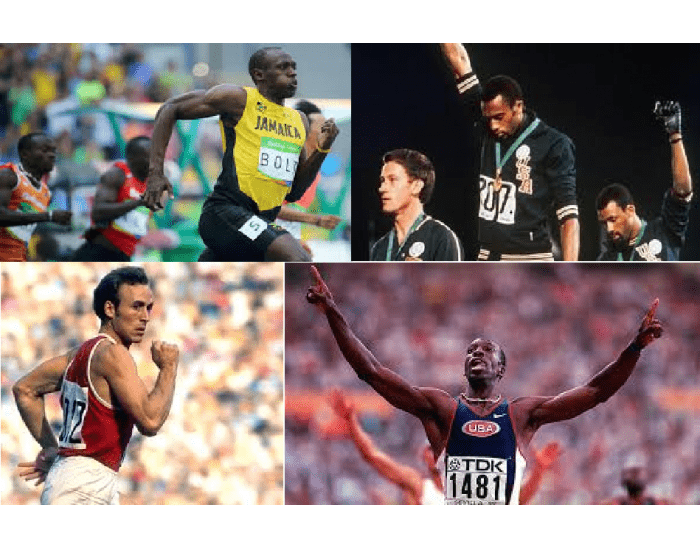 Olympic Gold Medalists in 200 metres 1948-