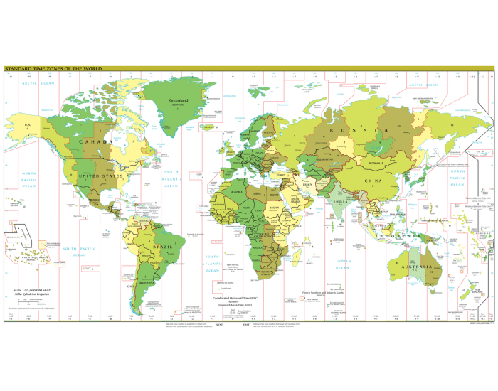 some questions about time zones