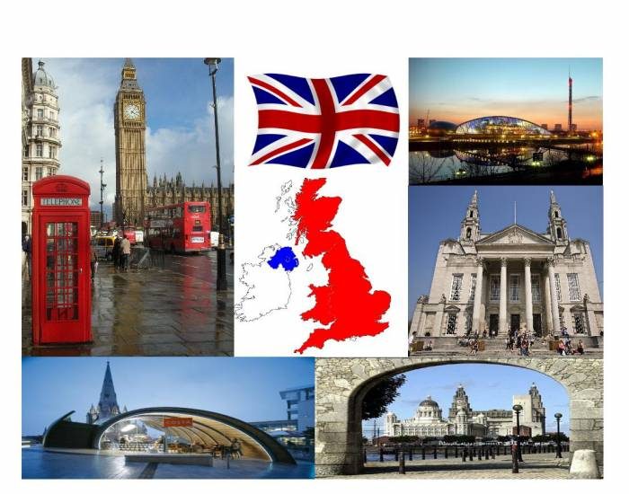 The UK - the five largest cities