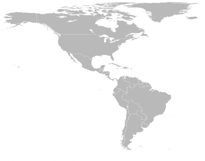 Countries of the Americas