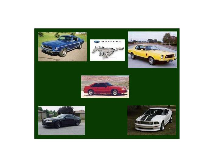 Ford Mustang Generations