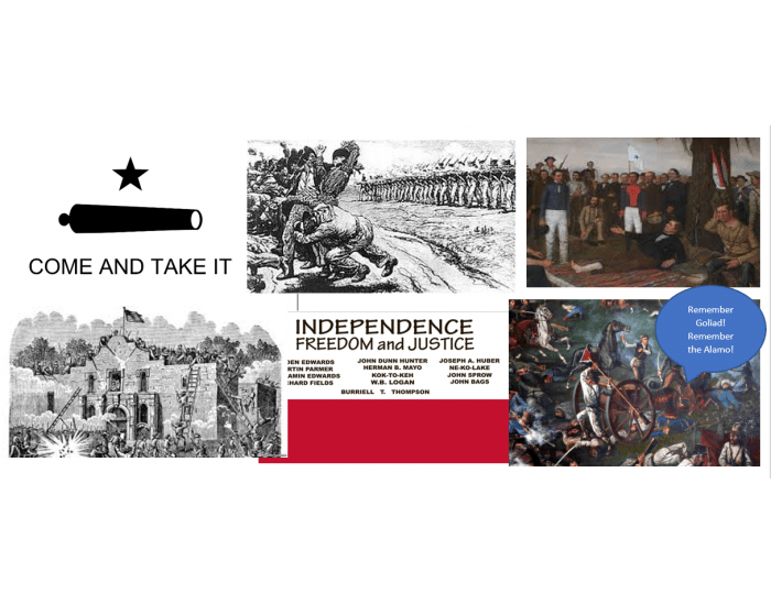 Events of the Texas Revolution by Image