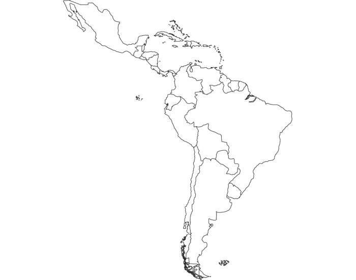Middle America & South America