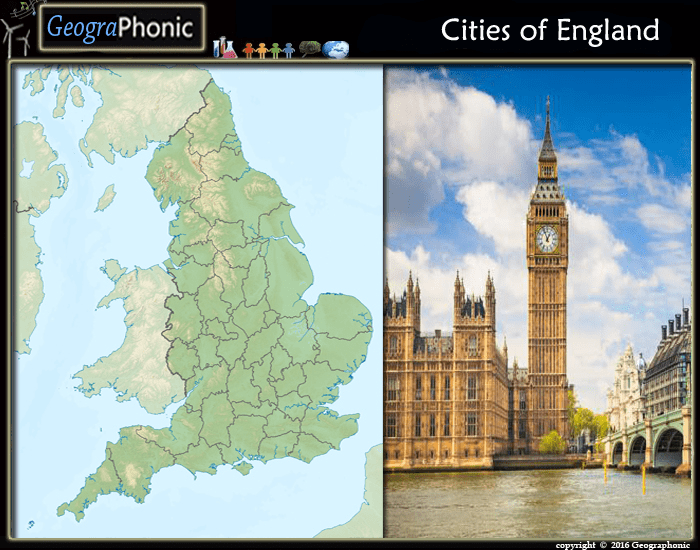 Cities  and Towns of England