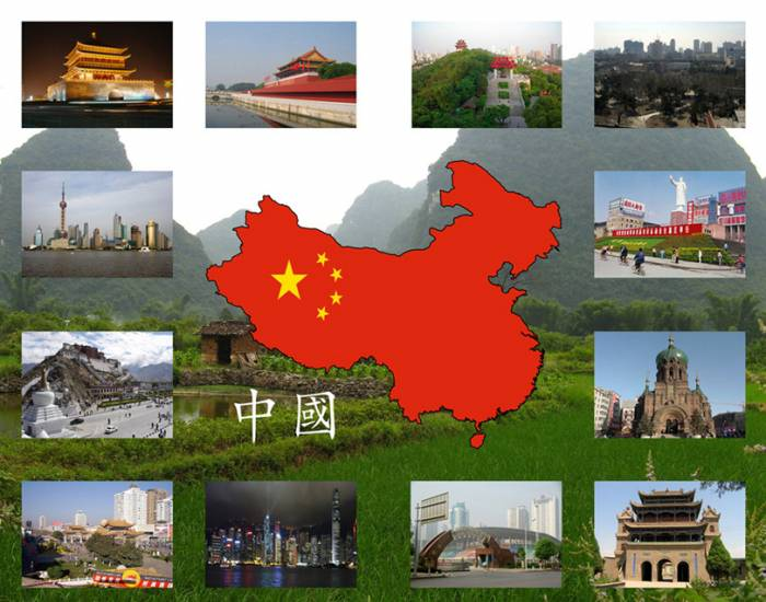 Chinese cities - Simplified