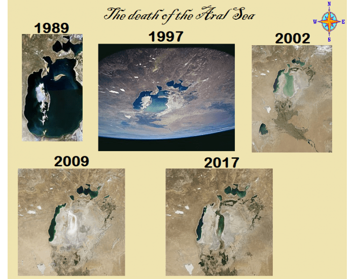 The death of the Aral Sea