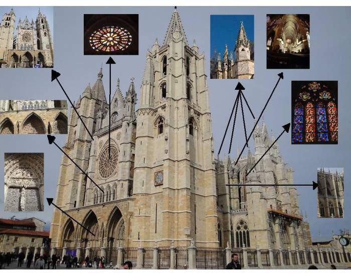 Gothic Cathedral. Spain