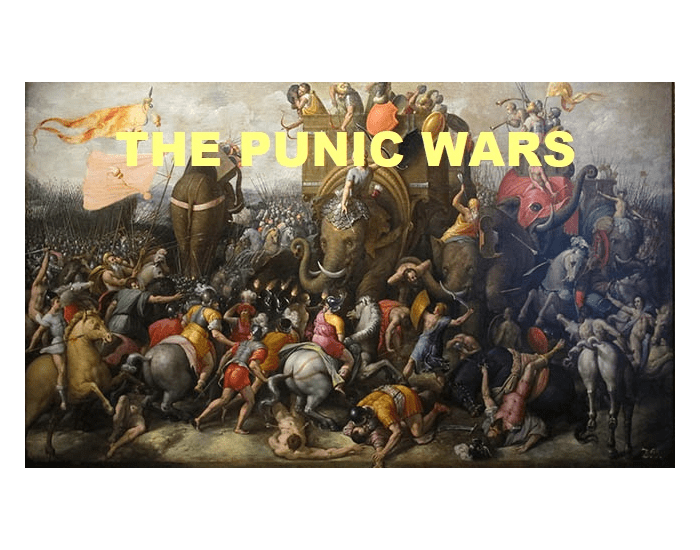 History: The Punic wars