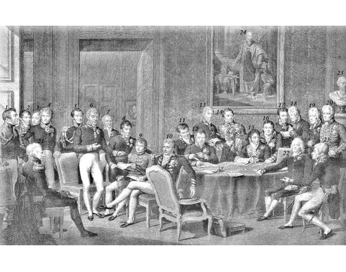 a brief history of the congress of vienna convened in 1815 by the four european powers which had def The congress of vienna was held from september of 1814 to june of 1815 it was convened by the four european powers (russia, prussia, austria and great britain), which had defeated napoleon, to remake europe after the downfall of napoleon i.