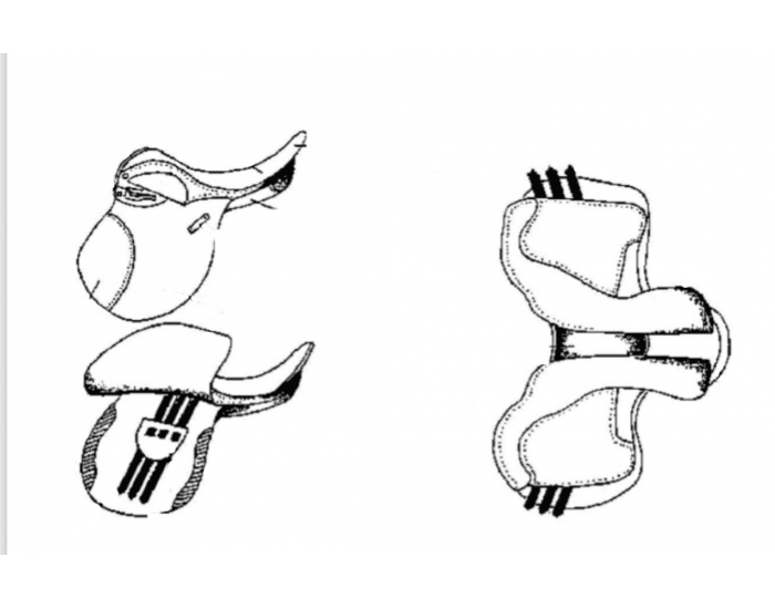 Parts of the Saddle