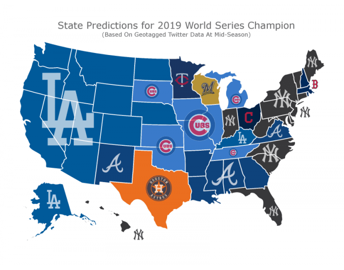 State Predictions For The 2019 World Series