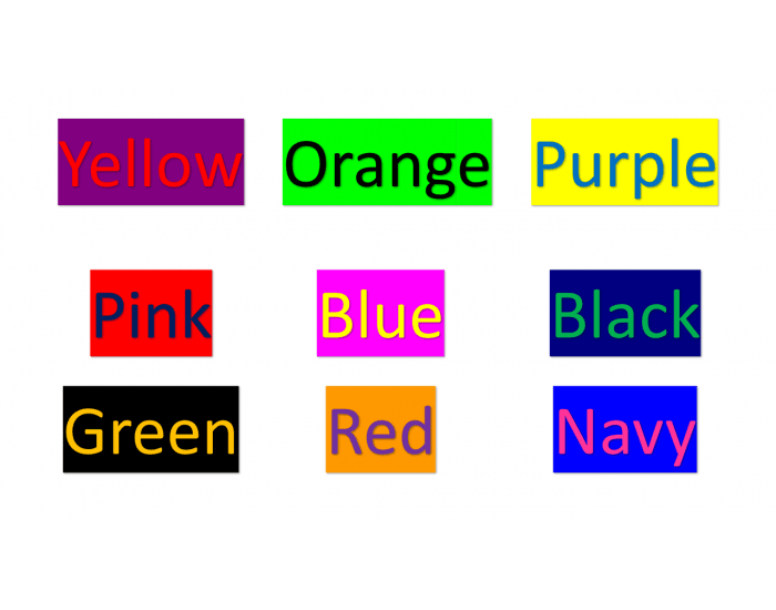 Label the BACKGROUND COLOUR