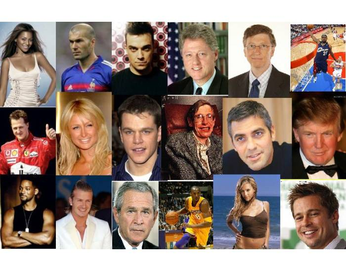 Famous People from Today And Yesterday