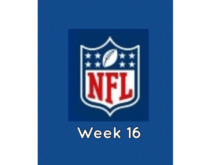 NFL Football Week 16