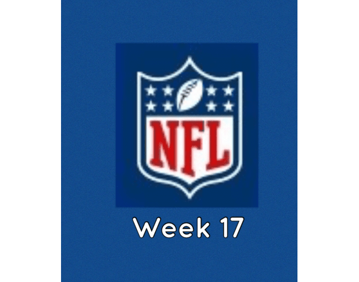 NFL Football Week 17