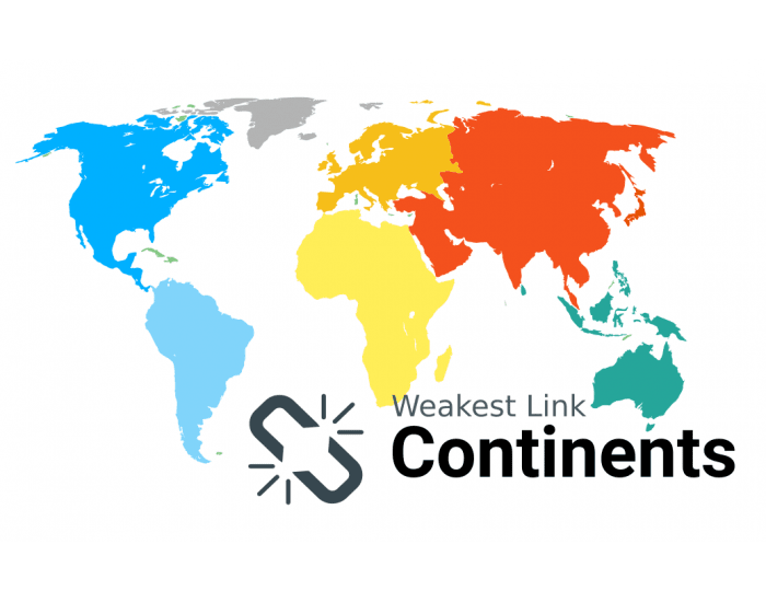 Weakest Link - Continents of the World