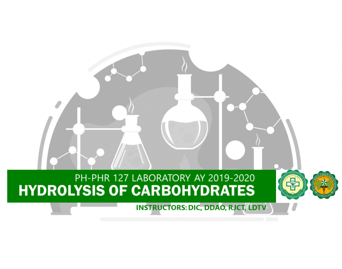 PH-PHR127: Hydrolysis of Carbohydrates