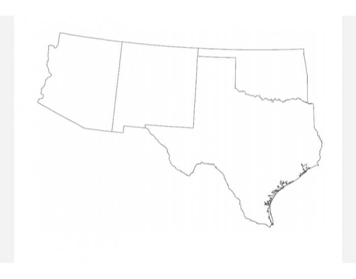 100 Cities of the Southwest