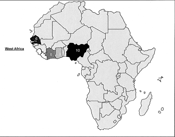 West Africa Map Quiz West Africa Political Map. West Africa Map Quiz   West Africa  Political Map .