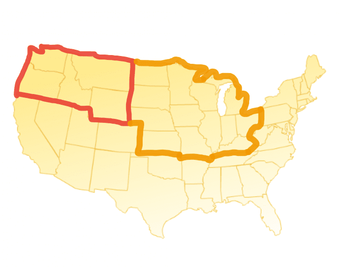 USA Regions 2 Part 2:Midwest States and Capitals