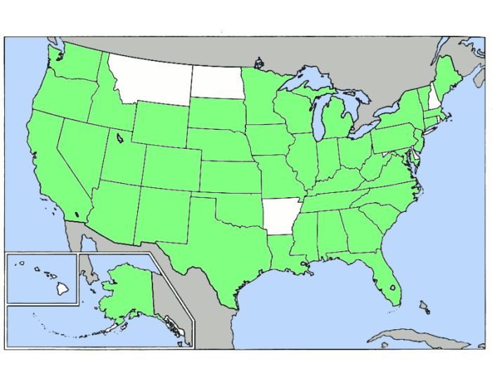 USA Easy S's Cities with S