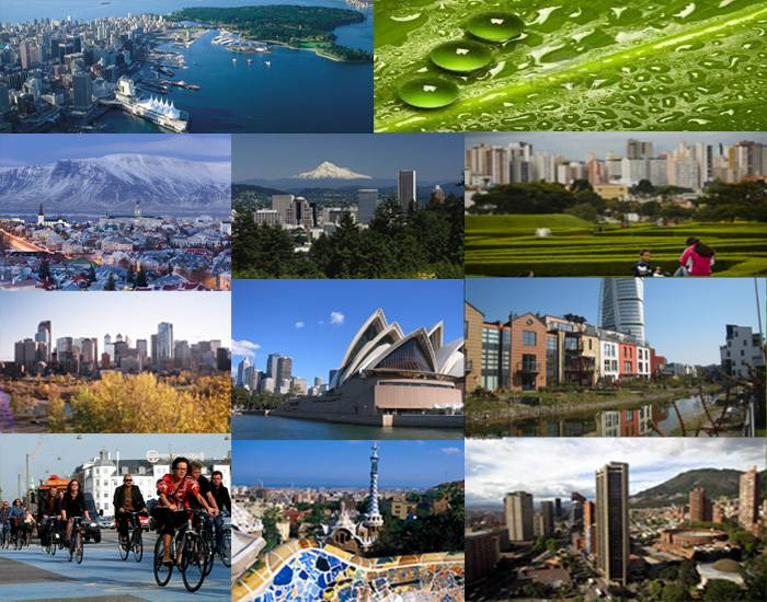 10 Eco Friendly Cities