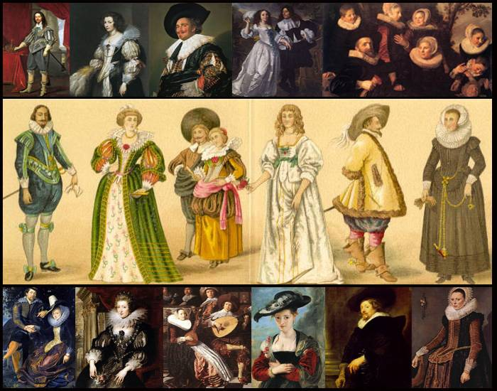 Fashion in History: Early Baroque (easy)