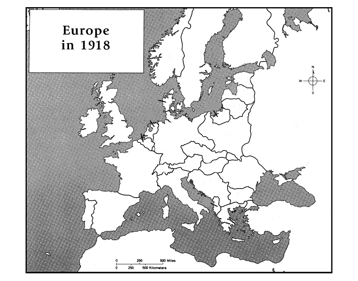 Europe in 1918 purposegames gumiabroncs Images