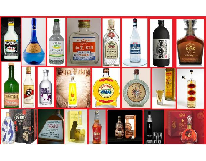 Name These Liquors From Around The World