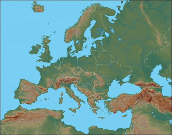 Game Statistics - Physical Features of Europe Map Quiz ...