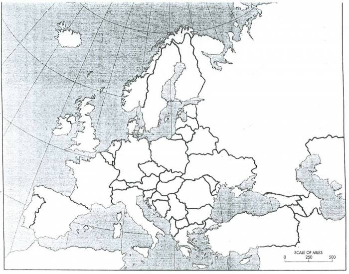 Europe 1919 Map Quiz Purposegames