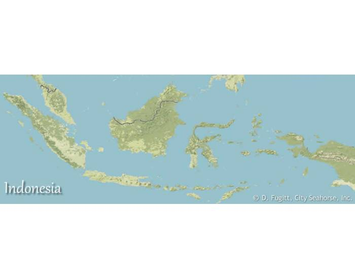Bodies of Water Indonesia