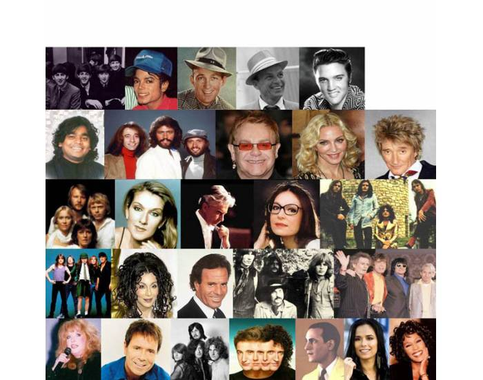 Best-Selling Music Artists