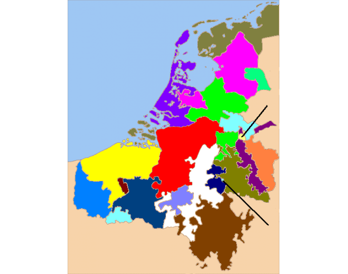 The Low Countries ca. 1350