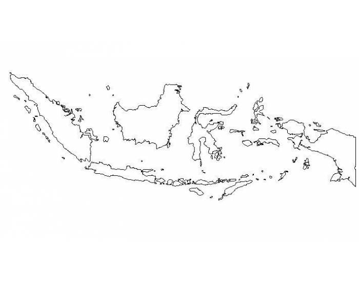 10 biggest islands of Indonisia (islands not shared my other countries)