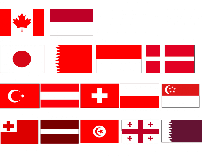 During the Second World War the Red Ensign was the recognized Canadian national flag A joint committee of the Senate and House of Commons was appointed on November