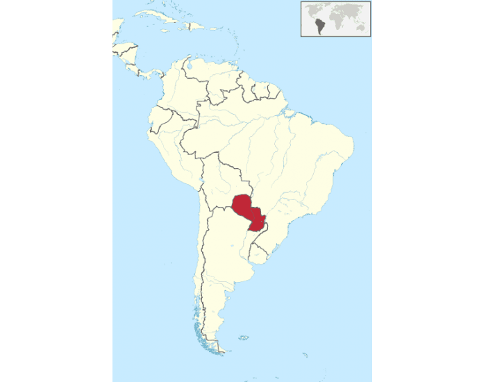 Neighbours of Paraguay